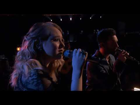 The Voice 2017  Finale - Addison Agen and Adam Levine - Falling Slowly
