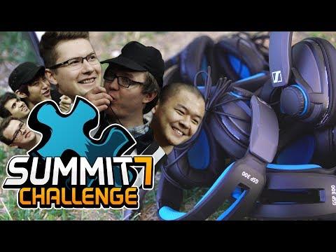 Summit 7 Challenge - Sennheiser Monitor Toss with Secret