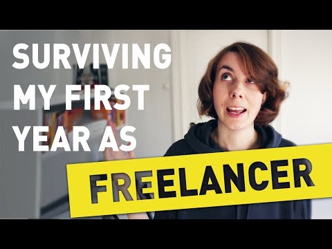 Surviving my FIRST YEAR as a Freelance Artist