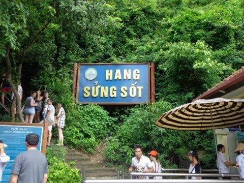 Vịnh Hạ Long #3 khám phá ▶ hang sửng sốt