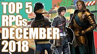 Top 5 NEW RPGs Of December 2018