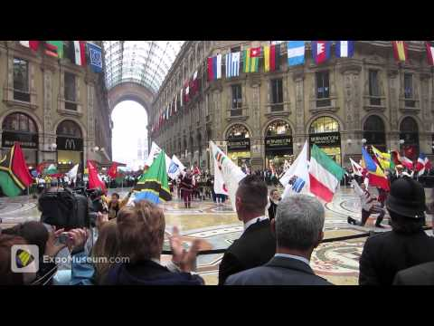Flag Ceremony, Expo 2015 2nd International Participants Meeting, Milan, Italy, 10 October 2012