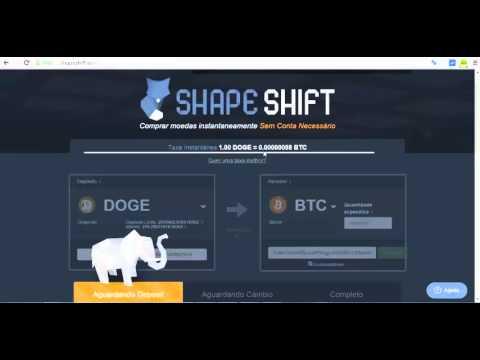 Como Trocar Bitcoin Em Dogecoin , Litecoin E Outras Moedas Digitais , Ou Vice Versa