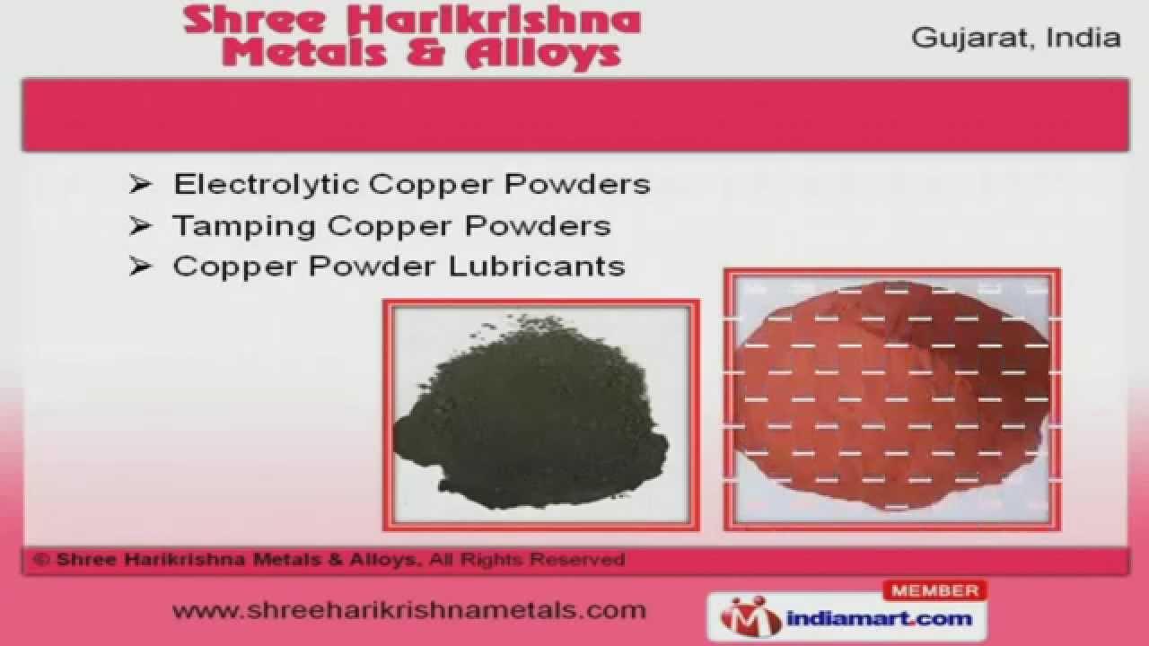 Copper Powder 99 8% 45-500 Micron