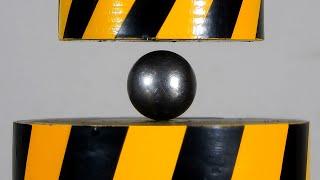 100 tons HYDRAULIC PRESS vs ADAMANTIUM BALL