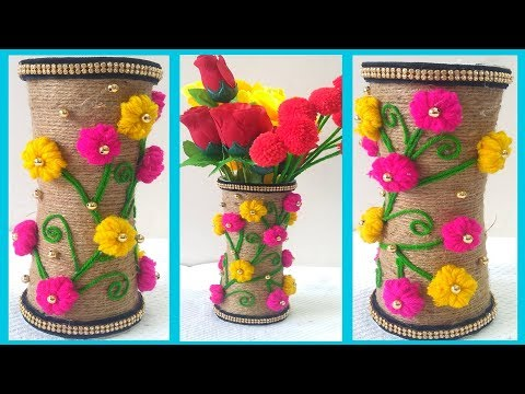194 & Download Diy Flower Pot Out Of Disposable Plastic Glass And Jute ...