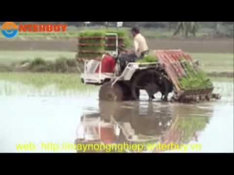 Máy cấy lúa Việt Nam sản xuất