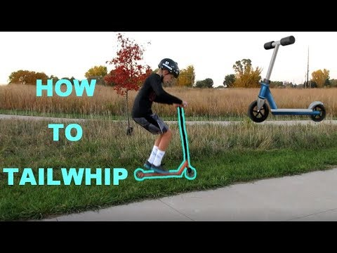 HOW TO TAILWHIP ON A SCOOTER! - For Beginners