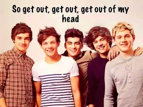 One Thing One Direction w lyrics, pics, and names