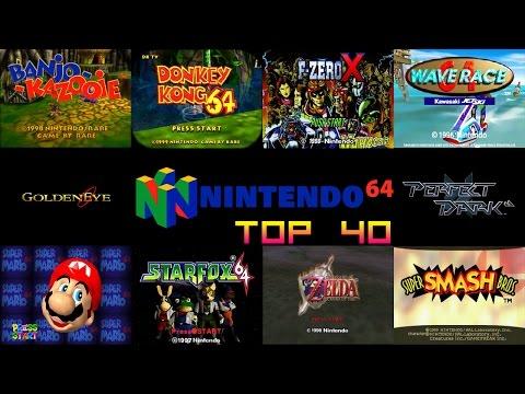 Nintendo 64/N64 Top 40 Games