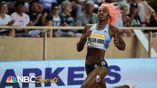 Shaunae Miller-Uibo Dominates Women's 200m at Diamond League Monaco   NBC Sports