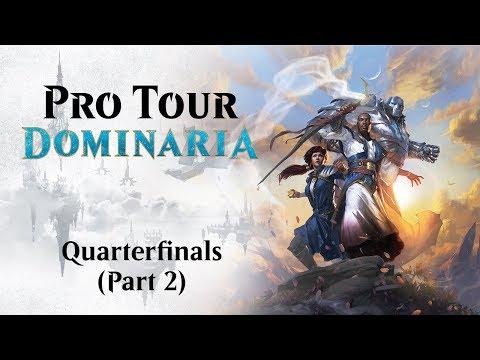 Pro Tour Dominaria Quarterfinals: Owen Turtenwald vs. Manuel Lenz & Thomas Hendriks vs. Wyatt Darby