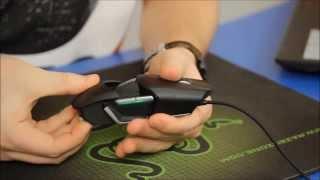 Симметричная игровая мышь Razer Ouroboros. Купить игровую мышку Рейзер.