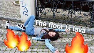 THE FLOOR IS LAVA IN PARC | Challenge Romania