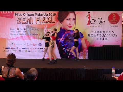 Miss Chipao Malaysia semifinsl talent round 2016