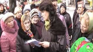 Митинг предпринимателей г.Котовск,Одесской обл.(в Котовске тишь и благодать., 2010-10-20T19:14:16.000Z)