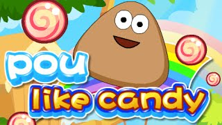 POU LIKES CANDY Level 1-23 Walkthrough