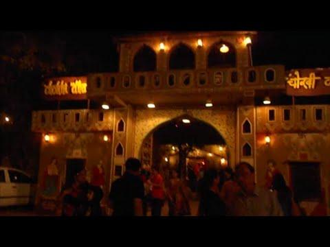 A Visit To Chokhi Dhani, Jaipur At Night