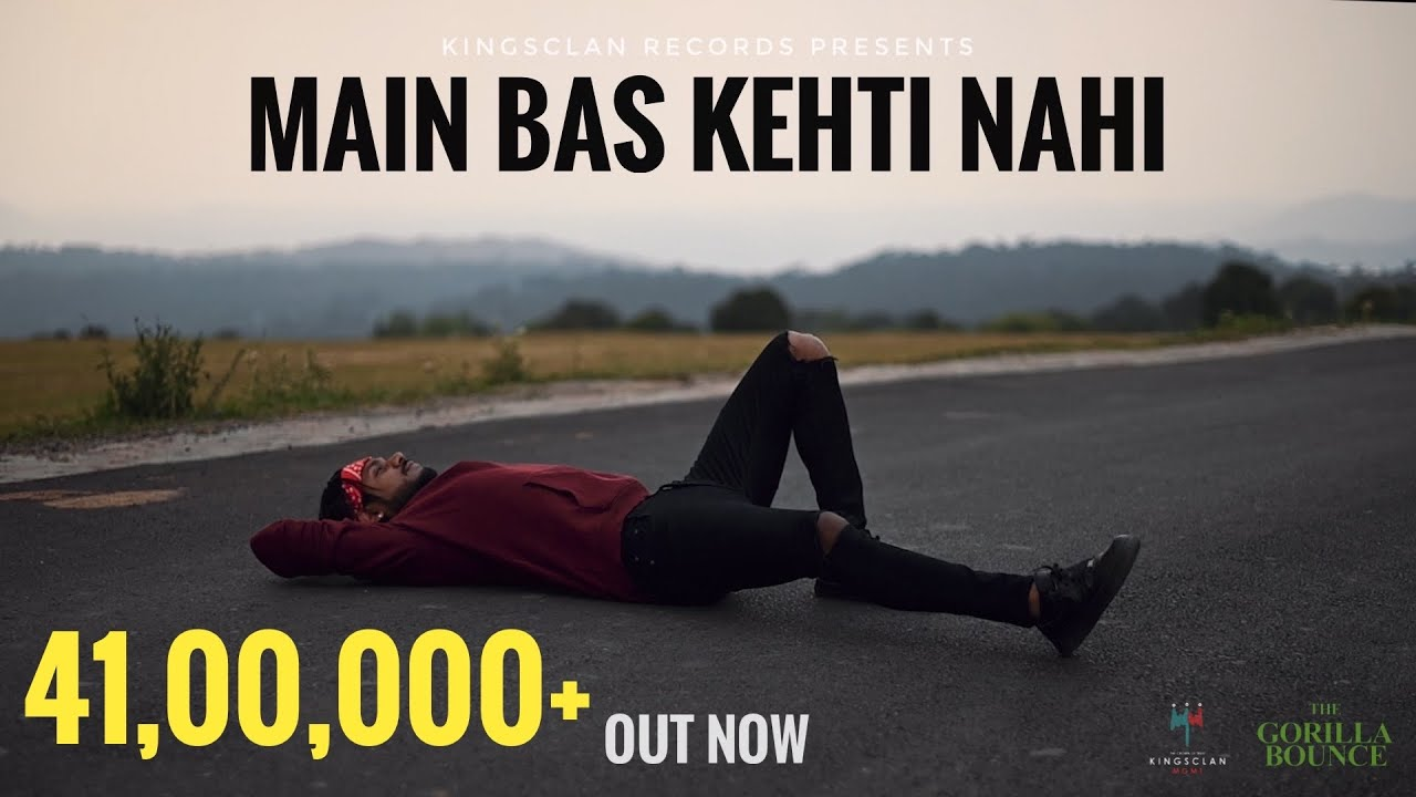 Download King - Main Bas Kehti Nahi | The Gorilla Bounce | Prod by. Section 8 | Latest Hit Songs 2021