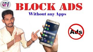 How to Ads block for android without any apps in tamil