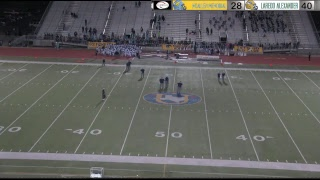 Mcallen Memorial @ Laredo Alexander Football Bi-District Playoff Game