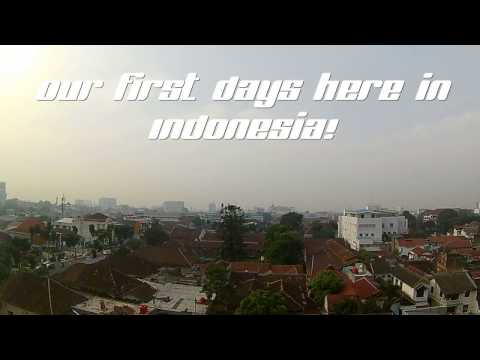 Arrival in Jakarta, Indonesia and first days in Bandung