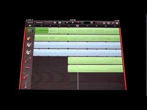 Garageband Song on iPad 2   Wow!!