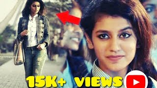 Meet new viral girl -priya prakash varrier|she sing a live song|viral in just 2min |she sing a song|