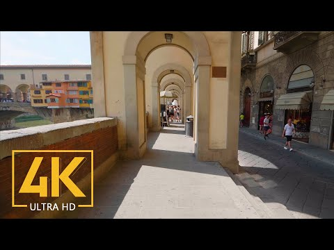 Virtual Walking Tour In 4K - Firenze/Florence, Italy - Trip To Italy - Top Italian Destinations