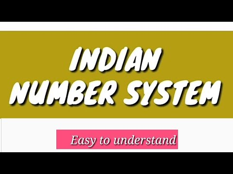 INDIAN NUMBER SYSTEM | WHAT IS INDIAN NUMBER SYSTEM ||