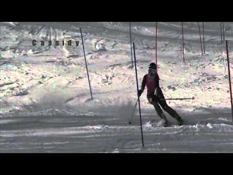 CUSSA Region 3 race Boyne Mt 2-2-13, slalom