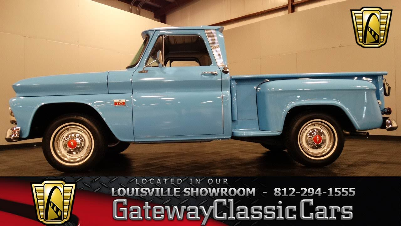 All Chevy 1963 chevy stepside for sale : 1966 Chevrolet C10 Pickup Truck - Louisville Showroom - Stock #982 ...