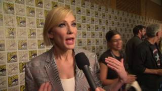 Thor: Ragnarok: Cate Blanchett Comic-Con 2017 Movie Interview