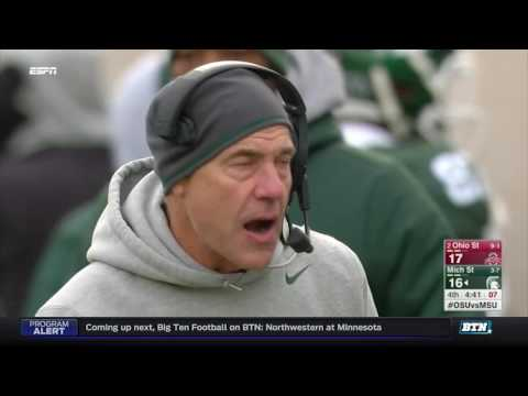 Ohio State at Michigan State - Football Highlights