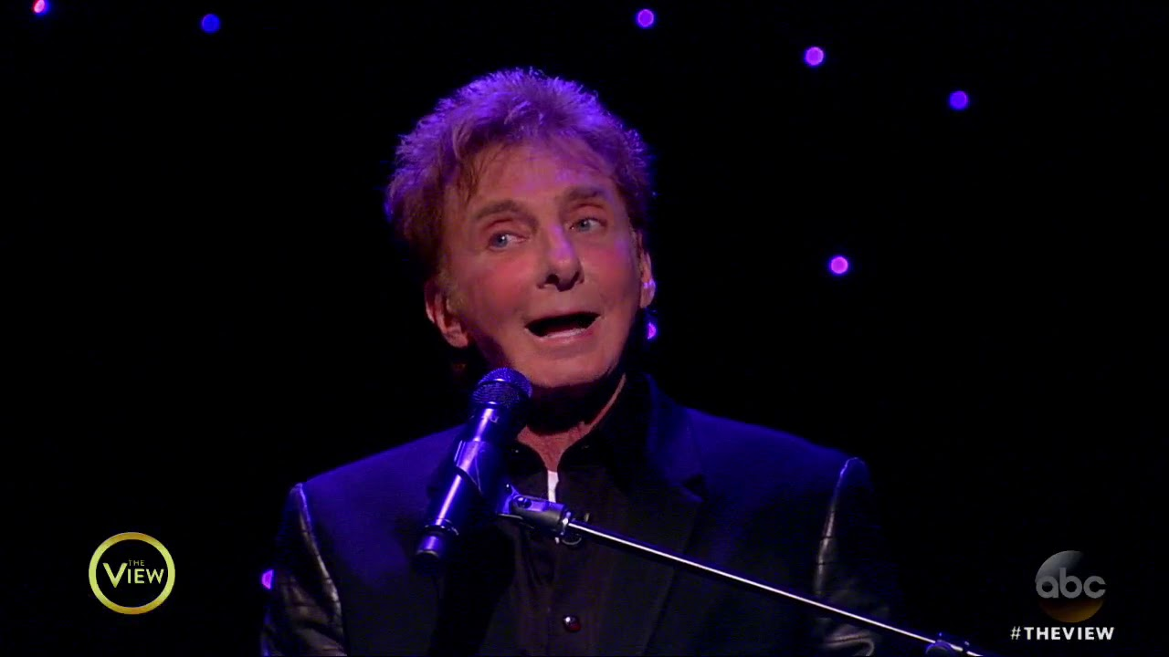 Barry Manilow Surprises Joy Behar For Her Birthday   The View ...