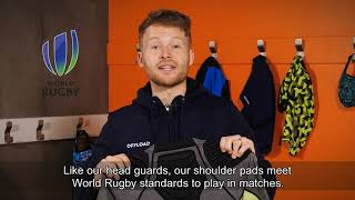 Decathlon UK: Offload; How to choose your rugby shoulder pads