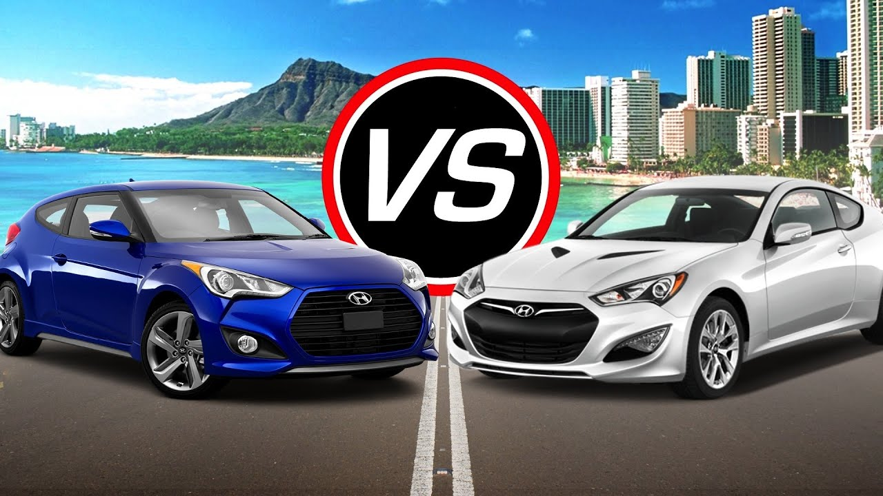2016 Hyundai Veloster Turbo Vs Genesis Coupe Spec