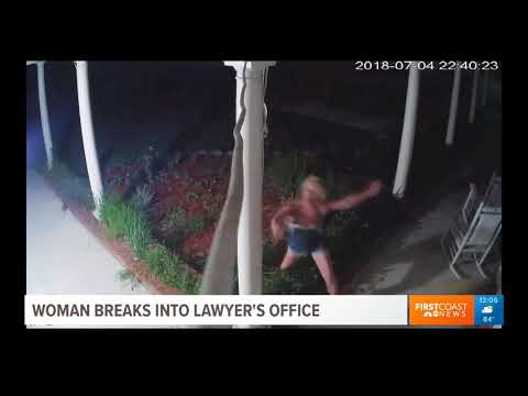 First Coast News Coverage of Law Office Theft