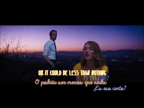 La La Land - A Lovely Night - Lyrics & Traducción al Español (English and Spanish)