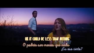 La La Land - A Lovely Night - Lyrics & Traducción al Español (English and Spanish)