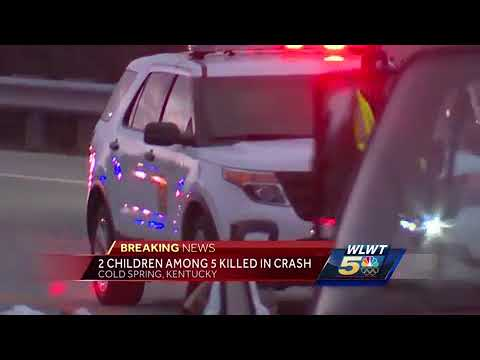 2 juveniles, 3 adults killed in Cold Spring crash