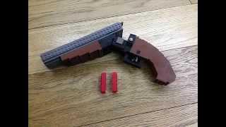 LEGO® sawed off double barreled shotgun