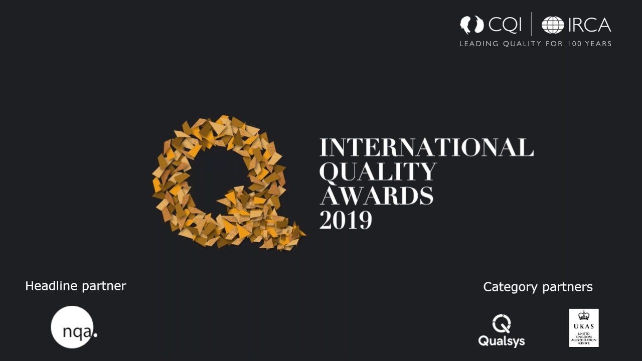 CQI International Quality Awards - frequently asked