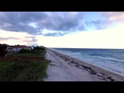 Satellite Beach Florida by Drone