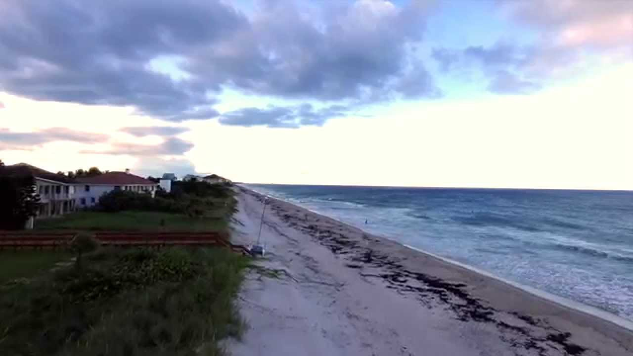 Satellite Beach Florida By Drone You