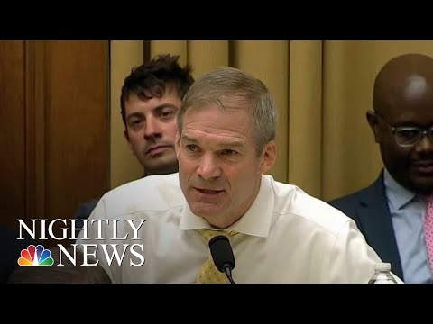 Jordan Facing New Accusation That He Ignored Warnings Of Sexual Abuse At Ohio | NBC Nightly News