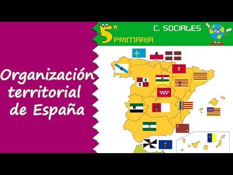organización-territorial-de-españa.-sociales,-5º-primaria.-tema-4