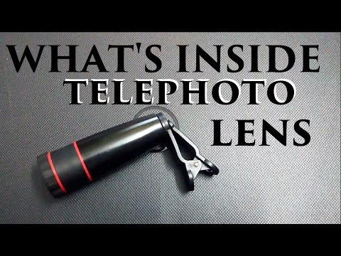 Inside Telephoto Lens [ Hindi - हिन्दी ]