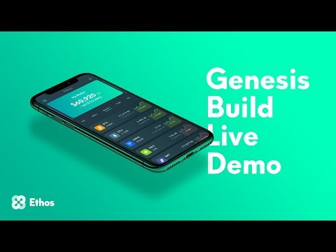 Ethos Universal Wallet Genesis Build Demo