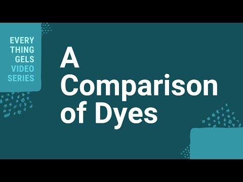 A Comparison Of Dyes